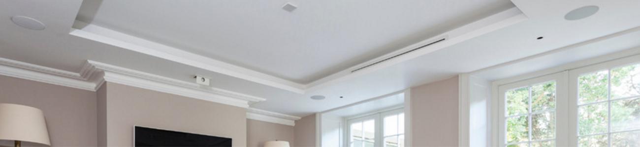 ceiling speaker banner