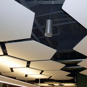 open ceiling speaker