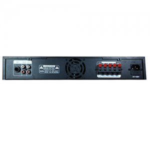 Leco Audio three zone mixing amplifier CMAA back