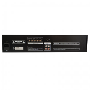 LECO AUDIO MIXING AMPLIFIER CMAE back view