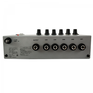 Leco Audio microphone distributor MD series back view