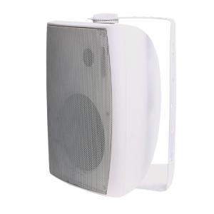 Leco Audio on wall speaker OWSD series side