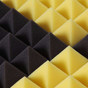 sound absorbing Polyurethane bar fireproof acoustic panel